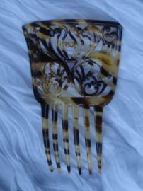 Celluloid Haircomb circa 1910 -1920 (sold)